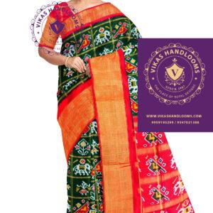 Bone checks pochampally saree