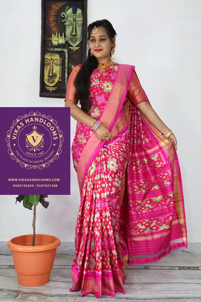 Tissue allover sarees