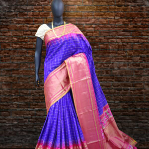 pochampally bone checks sarees