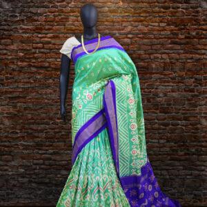 pochampally floral design sarees