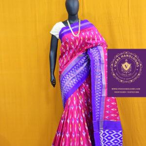 Pochampally ikat light weight pattu sarees