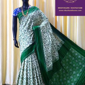 Ikat latest trends saree