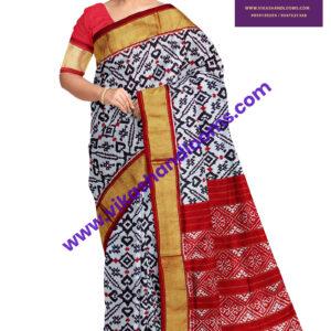 latest ikat designer saree