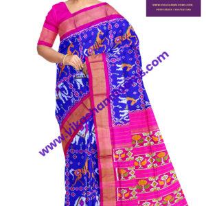 pochampally ikkat new trend saree